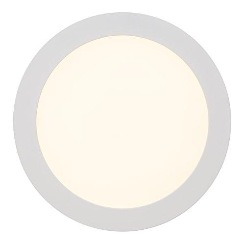 BRILLIANT lamp Laureen LED inbouwspot 23cm effen wit |1x 18W LED geïntegreerd (SMD), (1490lm, 3000K) |Schaal A ++ tot E |Energiezuinig en duurzaam dankzij het gebruik van leds