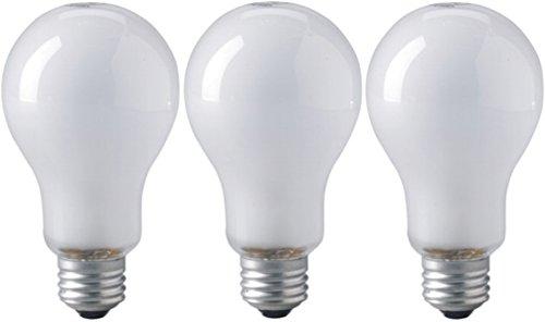Eiko ECT 120V 500 Watt Inside Frosted Photoflood Lamp Bulb, Pack of 3