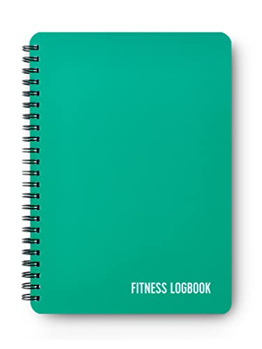 Fitness Logbuch Softcover Emerald