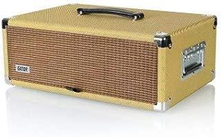 Vintage Amp Vibe Rack Case – 3U Tweed