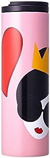 Starbucks スターバックス alice + olivia(アリス アンド オリビア) ステンレス トロイ ピンク ハート タンブラー 473ml(16oz) 海外限定品 日本未発売 スタバタンブラー
