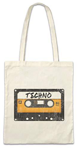 Urban Backwoods Tape Techno Hipster Bag Beutel Stofftasche Einkaufstasche