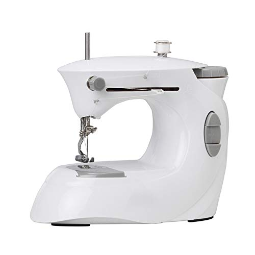 Find Discount HYCZW Sewing Machine, Mini Portable Small Compact Lightweight Household Handheld Multi...