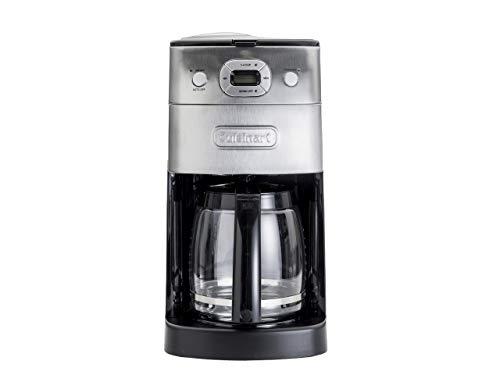 クイジナート ミル付 全自動 コーヒーメーカー 豆・粉 両対応 10カップ 予約機能付き DGB-625J シルバー