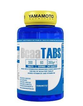 Yamamoto Nutrition Bcaa TABS integratore alimentare per sportivi a base di aminoacidi ramificati (300 compresse)