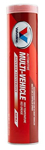 Valvoline Multi-Vehicle High Temperature Red Grease 14.1 OZ Cartridge