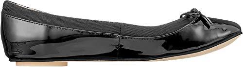 Buffalo Damen ANNELIE Geschlossene Ballerinas, Schwarz Black 000, 40 EU