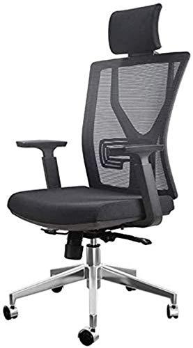 HOLPPO-Desk Stuhl-Ineinander greifen High Back Swivel Bürostuhl Heim Esports Spiel Stuhl 130 ° Schwenkbarer Design-Schlafstudenten Sitz verstellbar Lendenwirbelstütze Sessellift Bearing Gewicht 150kg