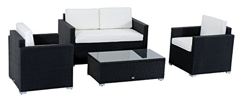 Outsunny Sectional Sofa Outdoor Modern Set