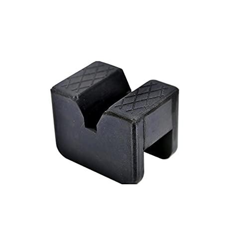 NLLeZ 1 unid coche ranurado elevador caja de goma almohadillas de goma adaptadores de piso Frame Rail Pinch Levantamiento de herramientas de reparación universal para VW TO-YO-TA NI-SSAN FO-RD