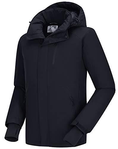 CAMEL CROWN Leicht Reißfeste Outdoor Regenjacke Freizeitjacke Funktionsjacke Kapuze Reißverschlusstasche für Frühling Sommer Herbst Joggen Wandern Reise Regenjacken