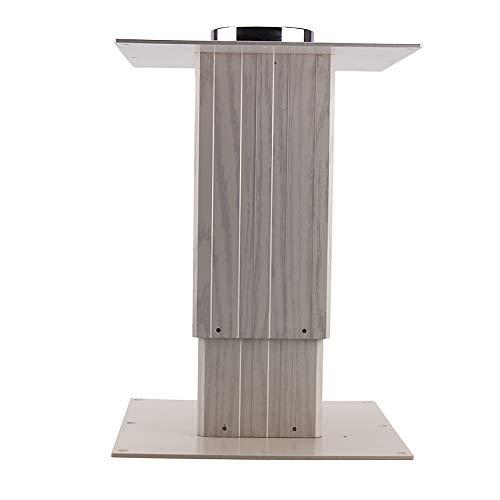 Freistehendes Liftgestell Hubtisch Höhenverstellbar Tisch Für Wohnmobil Yacht Boot Camping Wohnwagen Sockel Caravan