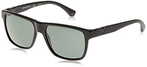 EMPORIO ARMANI 501771 Gafas de sol, Black, 58 para Hombre