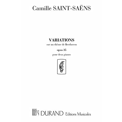 Variations Theme Beethoven Op 35 2 Pianos