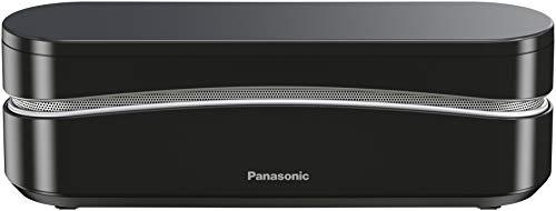 Panasonic KX-TGK320JTB Telefono Cordless DECT, Base Orizzontale, Segreteria Telefonica, LCD 3.8' Retroilluminazione Bianca, Suoneria Polifonica, Funzioni Non Disturbare, Modalità Eco e Eco Plus, Nero