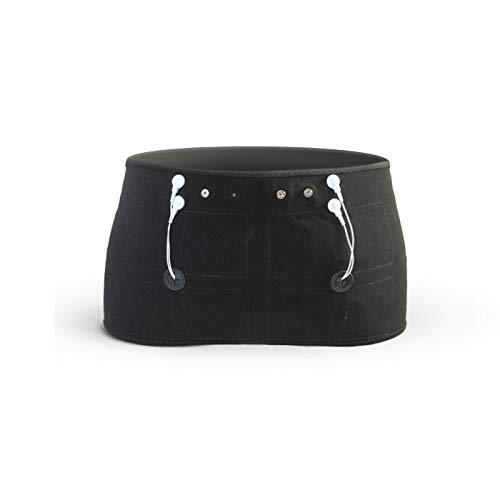 Sport-Elec - Cinturón de fésteres Combi electroestimulación Compatible con múltiples Marcas, Accesorios para Adultos, Unisex, Negro, Talla única