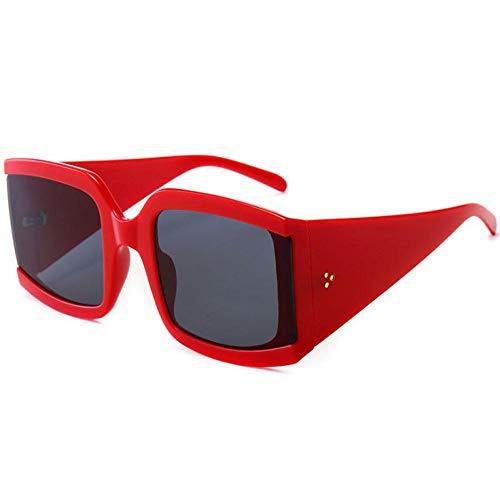 ZZZXX Gafas De Sol HombresGafas De Sol Con Tachuelas Para Mujer Gafas De Sol Hd Antireflectantes Para Hombre Y Mujer,Con Caja De Regalo Y Paño Para Vasos