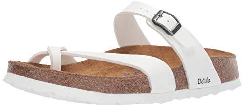 Birkenstock Betula Licensed Mia Soft White Birko-Flor 41 (US Women's 10-10.5)