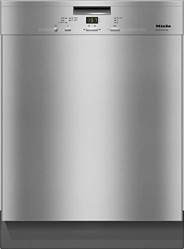 Miele G 4932 SCU CLST Lavastoviglie Incasso, 0.84 W, 448 Litri, 45 Decibel, Acciaio[Classe di efficienza energetica A+++]
