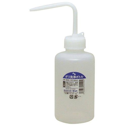 AZ(エーゼット) ポリ洗浄ボトル 500ml (洗浄ビン・洗浄ボトル・洗浄瓶・クリーナーボトル) B055