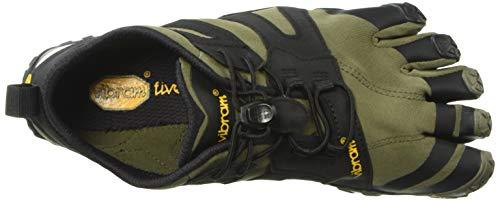 Vibram FiveFingers Men's V 2.0 Trail Running Shoe, Ivy/Black, 8.5/9 UK