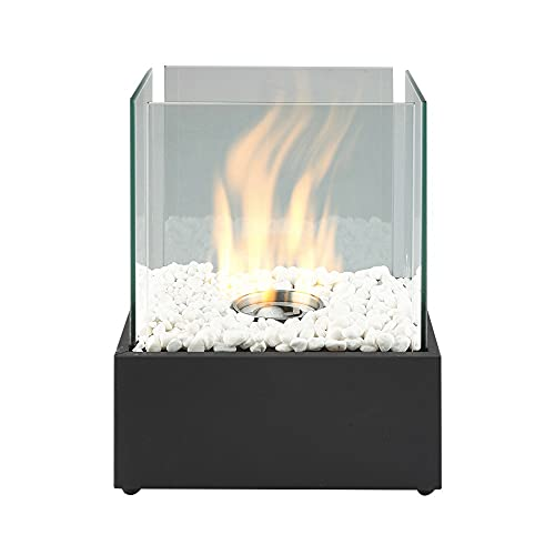 Bio Ethanol Fireplace Tabletop Firebox Burner Heater - Indoor & Outdoor...