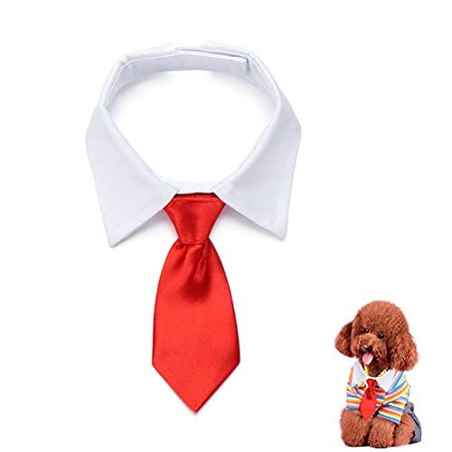 1 corbata de lazo para mascotas ajustable para el cuello de mascota disfraz formal para perros pequeños y gatos cachorros
