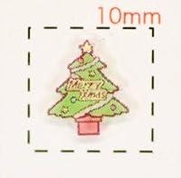 Christmasツリー【クリスマス ネイル&デコシール】(1)/1シート9枚入