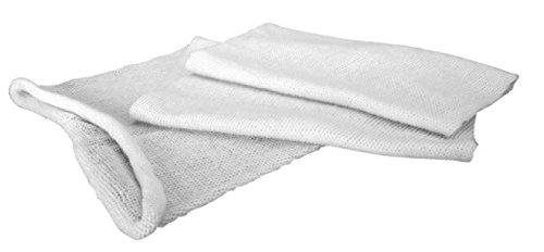 ANGOPE Saco para jamón de algodón - Funda para Guardar Jamon y conservar Fresco - Color Blanco - Medida: 90cm.