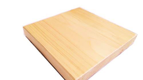 ひのき 国産 板材無節 幅9cm×厚1.5cm (長さ9cm)