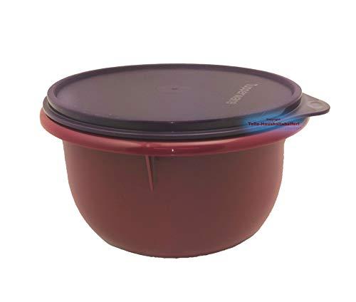 Tupperware® Peng Rührschüssel 2,0 L Schüssel Teig-Schüssel Hefeteig Bordeaux lila NEU+OVP