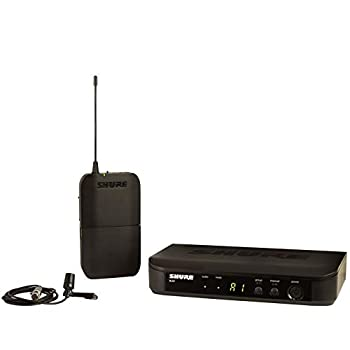 Shure BLX14/CVL Wireless Microphone System with BLX4 Receiver BLX1 Bodypack Transmitter and CVL Centraverse Miniatrue Lavalier Cardioid Condenser Mic for Clear Vocal Reproduction