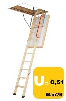 FAKRO Bodentreppe LWT 60x120/280 U=0,51W/m²K