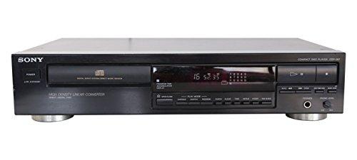 Sony CDP-397 - Lettore CD, colore: Nero