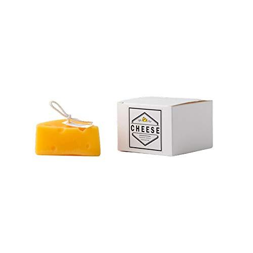 Posinda Cute Tea Lights Tealight Candles Artificial Creative Delicate Decorative Candles Cheese