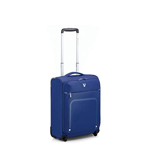 RONCATO Lite Plus trolley cabina xs morbido ultraleggero 2 ruote Blu notte