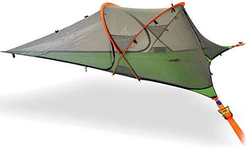 Tentsile Connect 2-Person Tree Tent (Forest Green): Removable rainfly, durable, portable and completely insect-proof.
