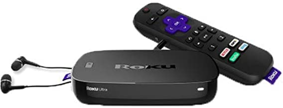 Roku Ultra | Streaming Media Player 4K/HD/HDR with Premium JBL Headphones 2019 (Renewed)