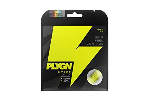 PLYGN Tennissaite Hyper Four/Spin & Kontrolle / 1.18 mm / 12 m/Co-Polyester/Tetragonal
