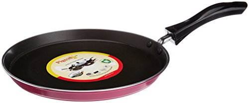 Pigeon by Stovekraft Induction Base Non-Stick Flat Tawa, 23.6 cm