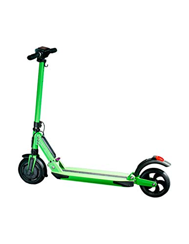 TBQ Urbans Ultralight Verde Patinete Electrico Scooter 250w, niño y Adulto, Altura Regulable, 25km/h.