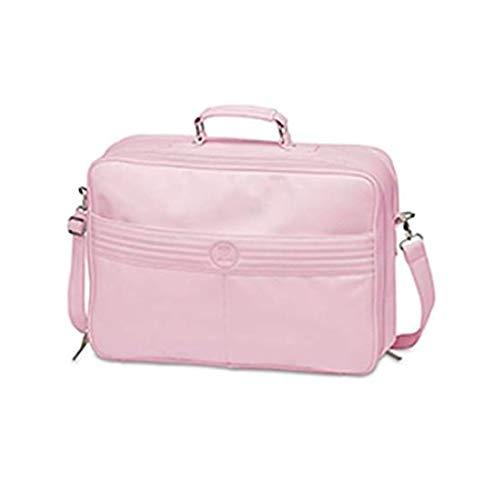 Pirulos 29390004 - Maleta ecopiel y cambiador a juego, color rosa