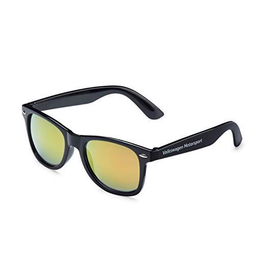 Volkswagen 5NG087900 Motorsport Sonnenbrille verspiegelt Original VW Brille, Schwarz