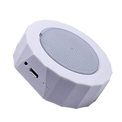 BoBoLily Iluminación de techo, luz de techo, impermeable, luz de lectura LED para coche, luz de lectura USB, intensidad regulable, lámpara táctil de adsorción (blanco)