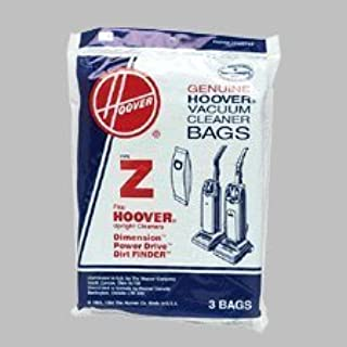 Hoover Type 4010075Z Z Bag, 3-Pack Bags, Hoover