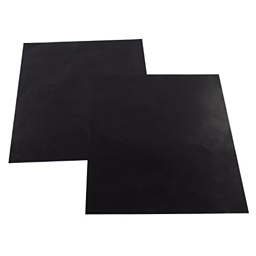 2 X Large Oven Liner - BPA & PFOA Free Teflon Non-Stick Oven Liners or Pan Liners-17x25 2 PCS + STOVE TOP LINER - Heavy Duty Use for Electric, Gas, Microwave, and Toaster Ovens (2, 17 x 25)
