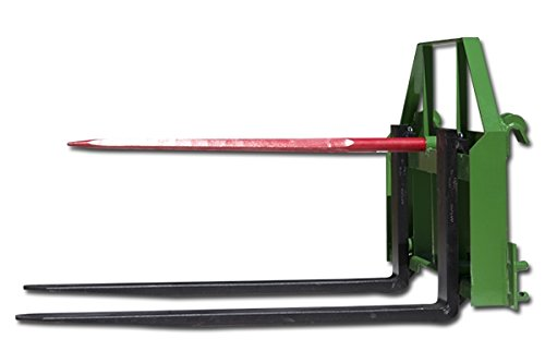 "Titan 48"" Pallet Fork fits John Deere Hay Bale Spear Attachment Forklift Front"