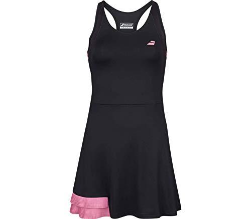 Babolat Compete Dress Women Vestido, Mujer, Black/Geranium...
