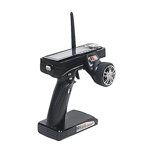 Transmisor y Receptor LCD de Control Remoto Modelo de Radio FS-GT3B 2.4G 3CH para RC Car Boat