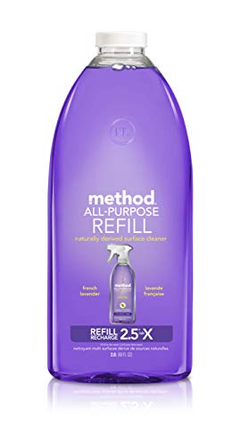 Method All-Purpose Cleaner Refill, French Lavender, 68 Ounces, 68 Fl oz